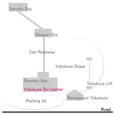 Map: Yokokura Ski Center